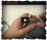 fix knit instead of purl