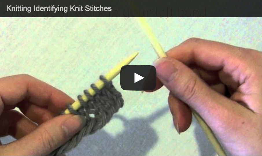 How To Increase Stitches In Knitting Continental : Knit Stitches Purl Stitches Knitting Video Tutorials by Astraknots - Astraknots