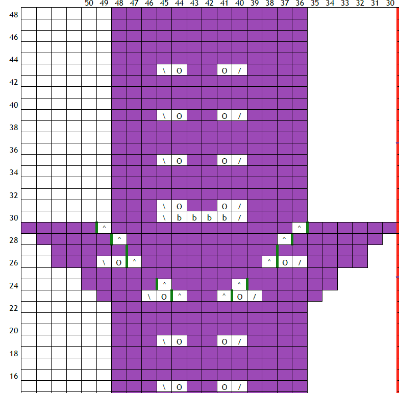 knitting pattern charts