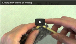 bind off knitting
