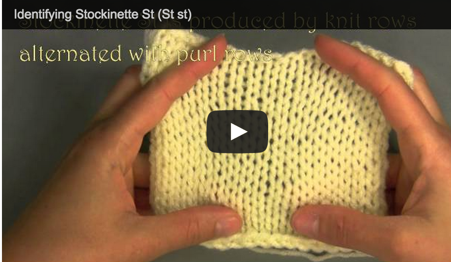 stockinette st